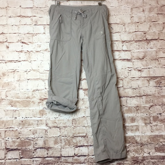 b383d2127 The North Face Khaki Roll Up Hiking Pants